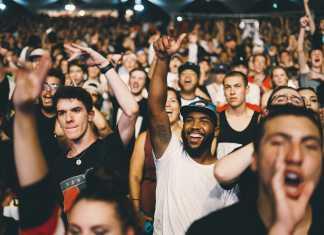Spectators, tilskuere, jubel, celebrat