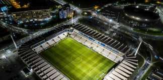 fodboldstadion, aerial