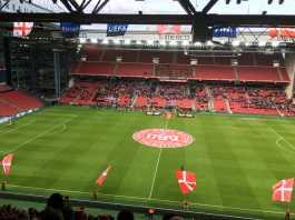 Landskamp Danmark Parken 2019